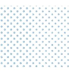 Pattern in blue polka dot vector