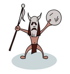 shaman vector image