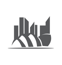 Sidney opera house vector