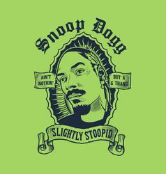 Snoop dog vector