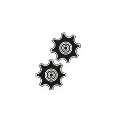 workflow icon simple element vector image