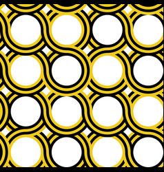 circle geometric pattern vector image