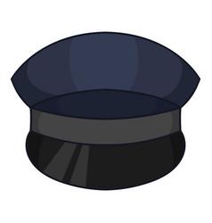 patrol cap icon cartoon style vector image