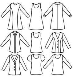 shirt vector image vector image