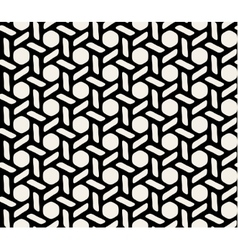 Black and white hexagonal seamless vector