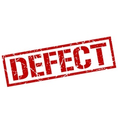 defect stamp vector image