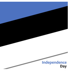 Estonia independence day vector