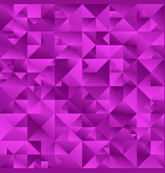 Gradient purple triangle background - abstract vector