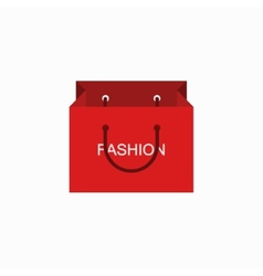 modern shopping fashion icon on white vector image