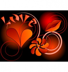 Symbol of love vector