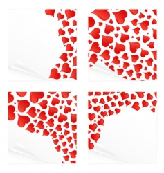 love reminder notes vector image