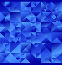 gradient triangle background - abstract blue vector image