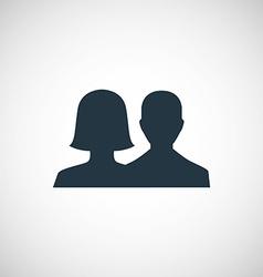Male female icon vector