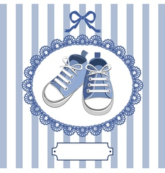 Shoes and frame vector
