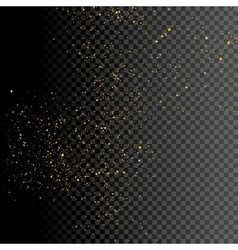 Sparkle greeting card background design Glitter vector