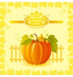 beautiful autumn still life vector image