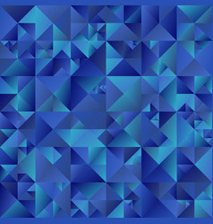 Blue triangle background - abstract polygonal vector