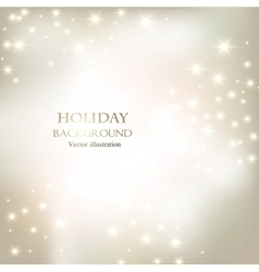 Elegant christmas shining background vector