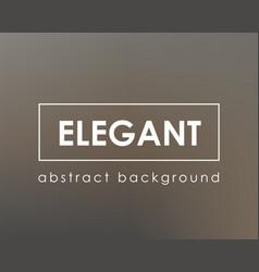 elegant dark brown rich blurred background vector image