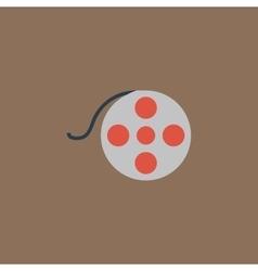 film reel icon vector image