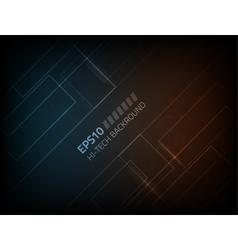 Hi-tech modern background vector image