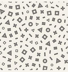 Seamless chaotic pattern randomly vector