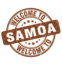 Welcome to samoa vector