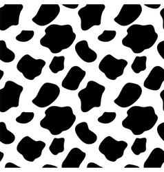 Cow Seamless Pattern Background vector image vector image