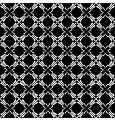 seamless crisscross pattern vector image vector image