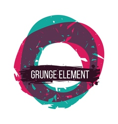 Color grunge abstract background vector