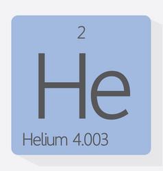helium vector image vector image