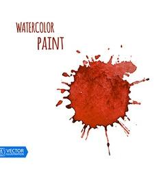 Watercolor Paint Splat vector image vector image