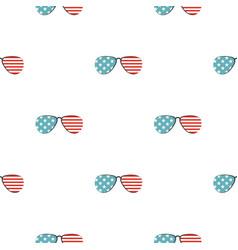 American glasses pattern seamless vector