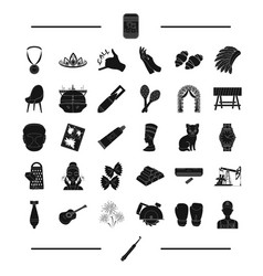 Dentistry weapons equipment and other web icon vector
