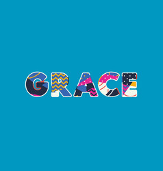 Grace concept word art vector