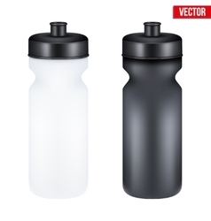 Mockup Plastic Sport Nutrition Drink Container vector image