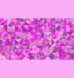 polygonal geometrical abstract mosaic triangle vector image