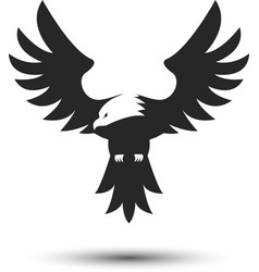 eagle logo template vector image vector image