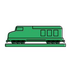 Cargo or freight train icon image vector