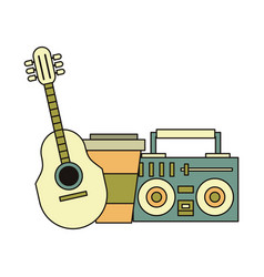 Hipster accessories for holidays vector