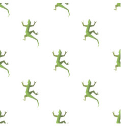 Lizard triangle shape seamless pattern backgrounds vector