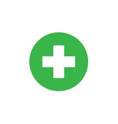 medical healthcare icon graphic design template vector image