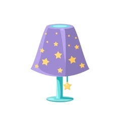 Night Light With The Stars vector image