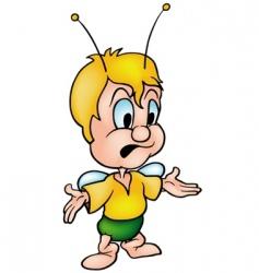 Speaking beetle vector