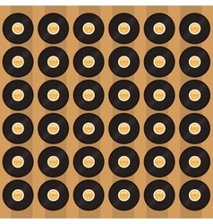 Vinyl record pattern background image vector