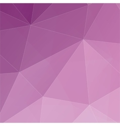 Abstract 3D geometric colorful background vector image