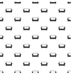 leather sofa pattern seamless vector image