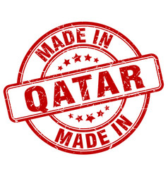 Made in qatar vector