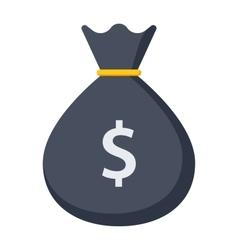 Money Bag Icon vector image