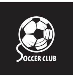 Soccer football logo vector